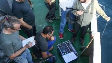 Marmara Denizi'ndeki deprem araştırmalarnda yer aldık.